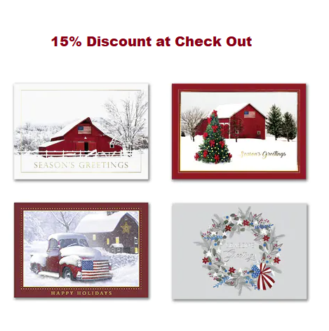 patriotic christmas cards patriotic holiday cards american flag - Patriotic Christmas Cards